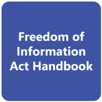 This is a Freedom of Information Act Handbook link button.