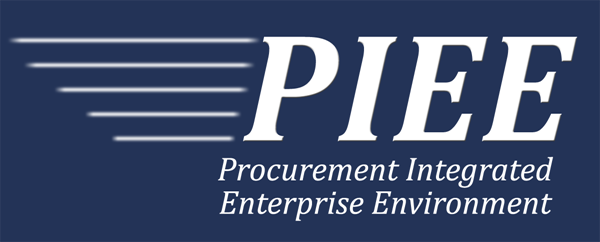 This is the Procurement Integrated Enterprise Environment logo